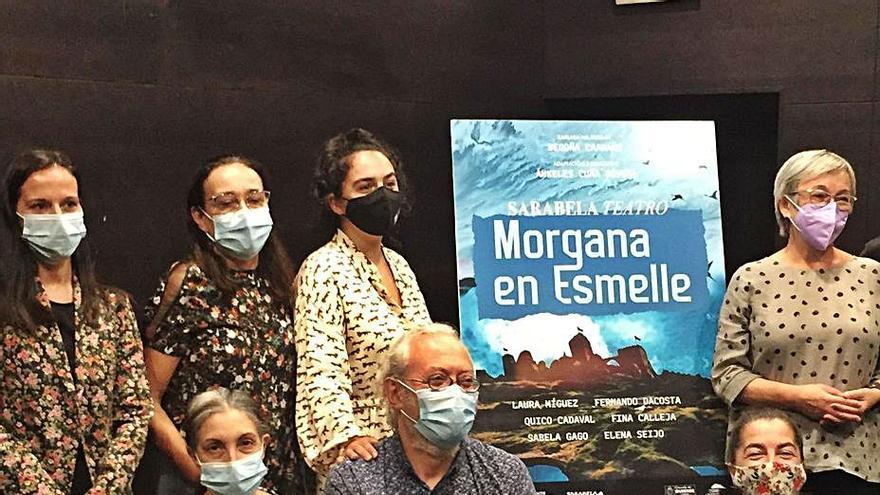 A compañía Sarabela estrea 'Morgana en Esmelle', unha obra sobre o feminismo, no Auditorio de Ourense