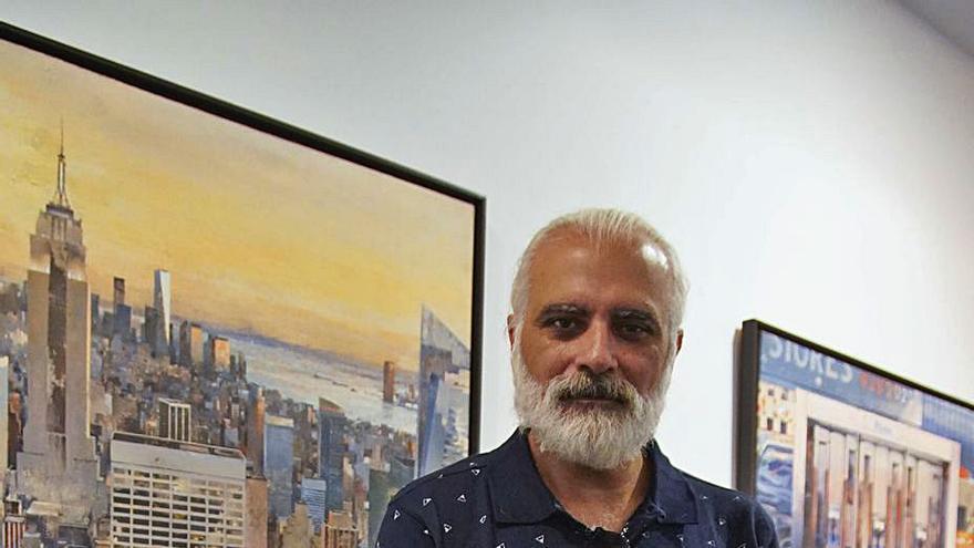 """Salvador Montó: """"Pintar es revisitar momentos que me provocan emociones, como un viaje interior"""""""