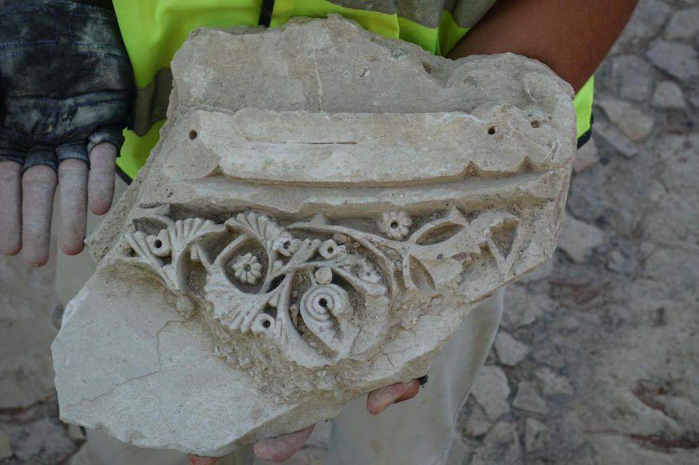 Hallazgos en el Castillo de Santa Bárbara de Alicante