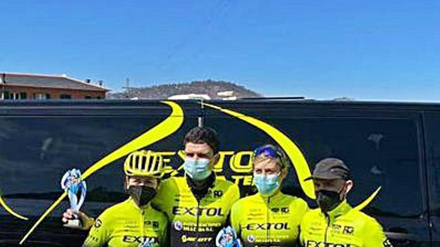 El Extol MTB Team sube tres veces al podio en Robledo