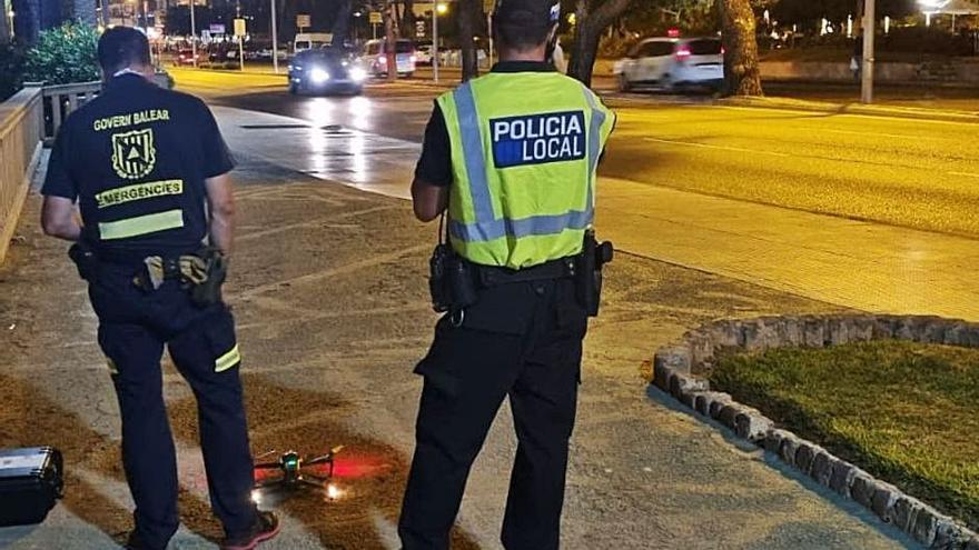 Levantan 93 actas en Palma el primer fin de semana con restricciones