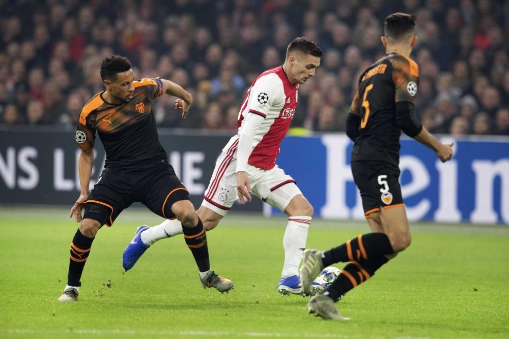 Ajax vs Valencia