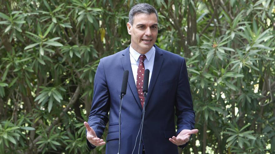 """Sánchez sobre los datos del paro: """"Corroboran que España está consolidando el crecimiento económico"""""""