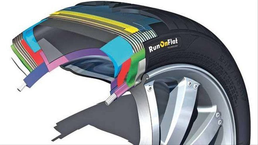 ¿Qué son los neumáticos runonflat?