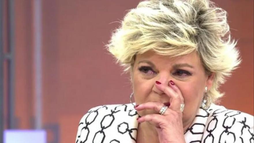 Terelu Campos se derrumba tras oír hablar del hijo de Rocío Carrasco