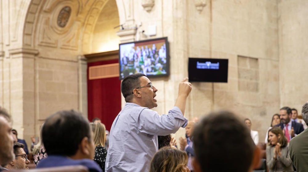 ..Segunda jornada del Pleno del Parlamento ...