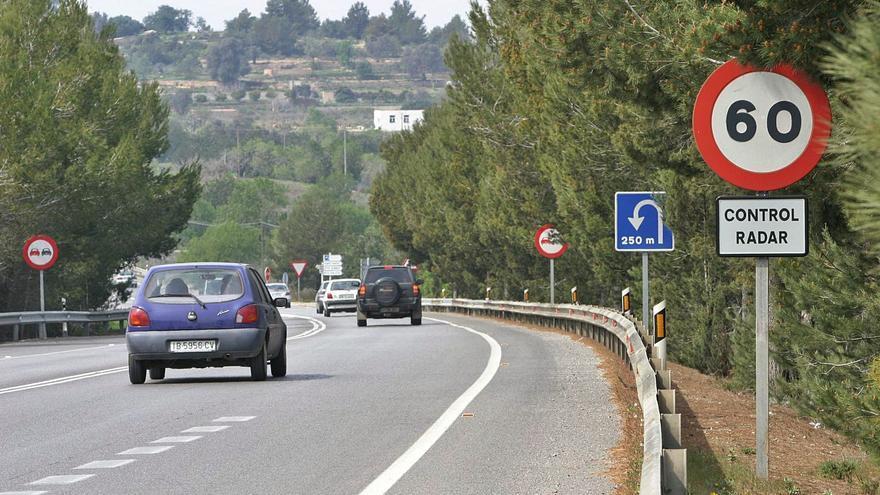 El radar de tráfico de la autovía de Ibiza a Sant Antoni, entre los más 'multones' de toda España
