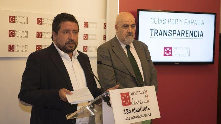 El Consejo Nacional avala la estrategia de la Diputación de Castellón en transparencia