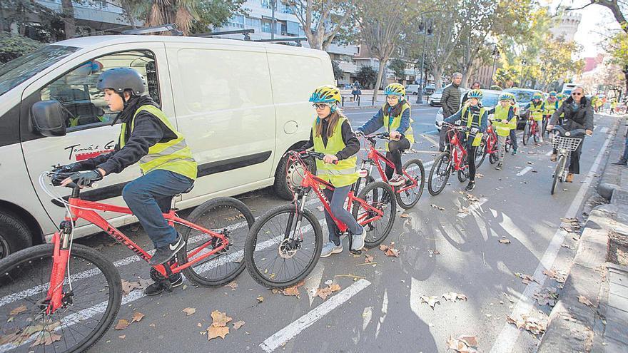 Un coordinador para acercar la bici a los colegios