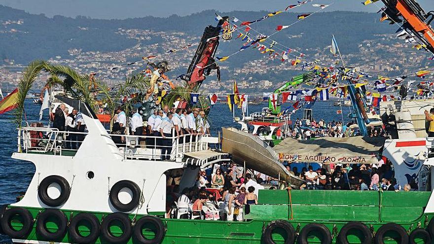 Moaña celebrará las fiestas del Carmen sin procesión por mar y con restricción de aforo en las verbenas