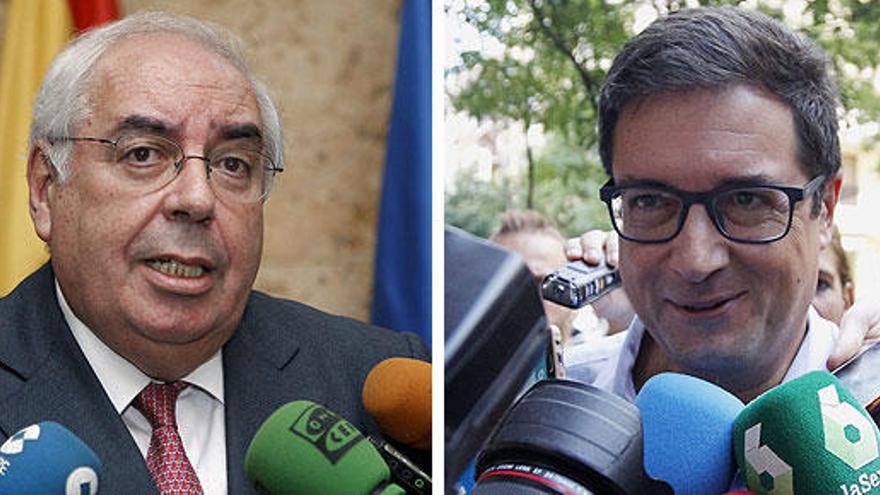 El PSOE releva a Óscar Lopez por Areces en el Senado