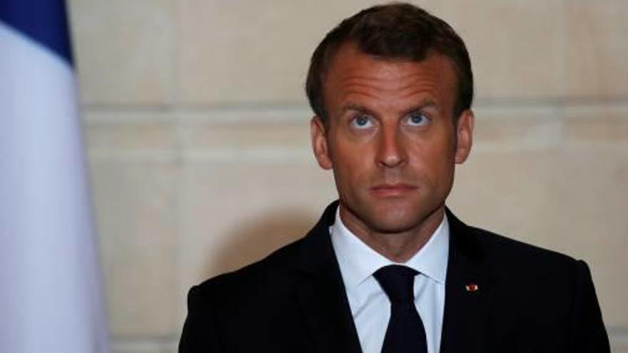 Macron es va beneficiar            de grans rebaixes en la seva campanya electoral
