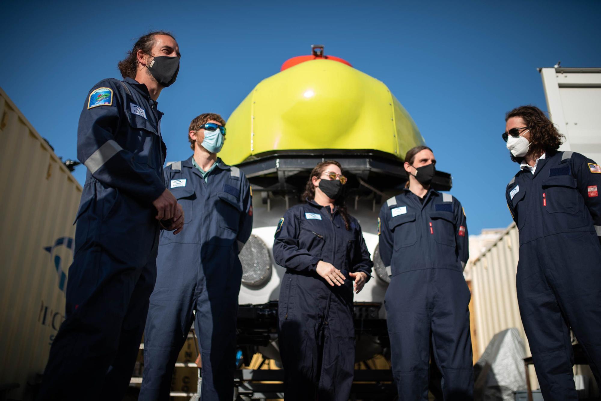 Un submarino para estudiar los fondos de Tenerife