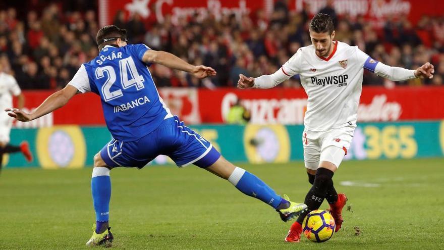 El Dépor cae 2-0 en Sevilla