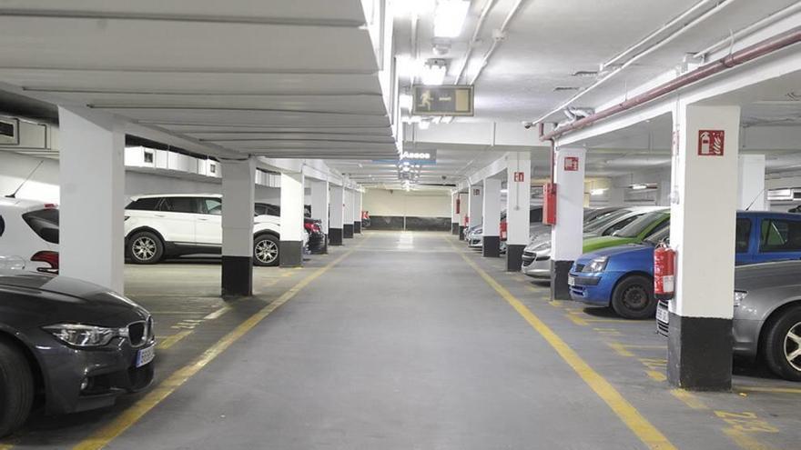 El parking de Santa Isabel se pone guapo con DecoMorales