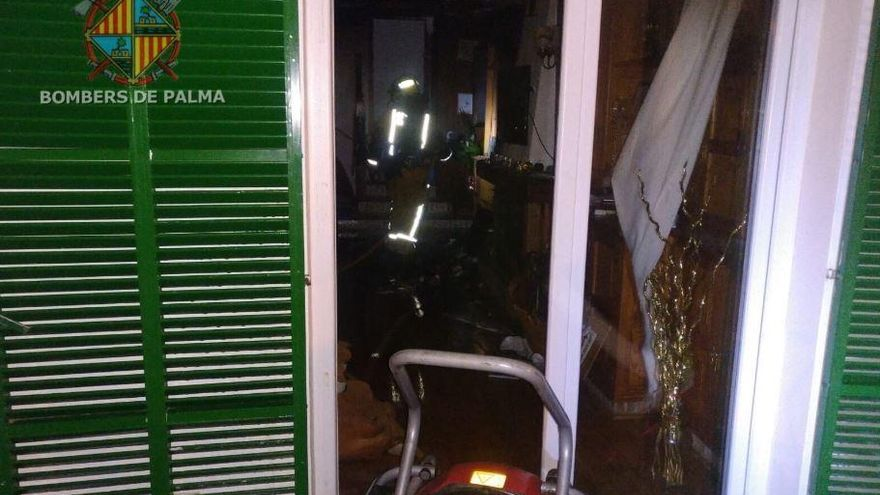 Mutter und Tochter erleiden Rauchvergiftungen bei Wohnungsbrand in S'Arenal