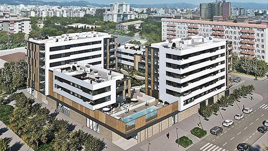 Reservan casi la mitad de los nuevos pisos de Nou Llevant