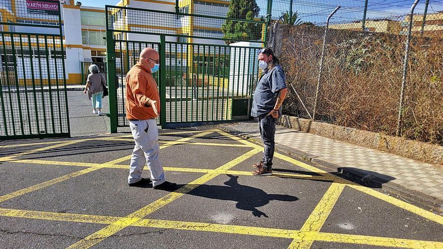 Un camino peatonal para evitar el caos de tráfico en el antiguo colegio Militar