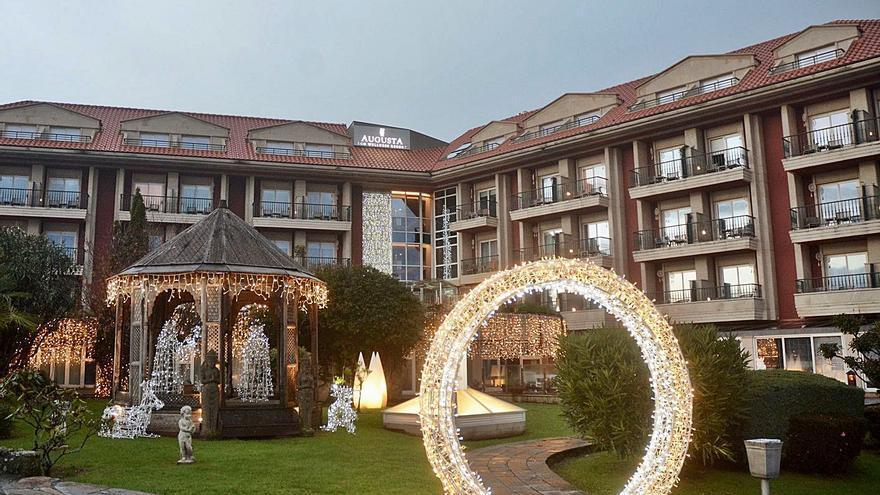 El hotel de Sanxenxo celebró la fiesta ilegal de Nochevieja pese a la advertencia días antes de la Policía Local cuando la anunciaba por redes