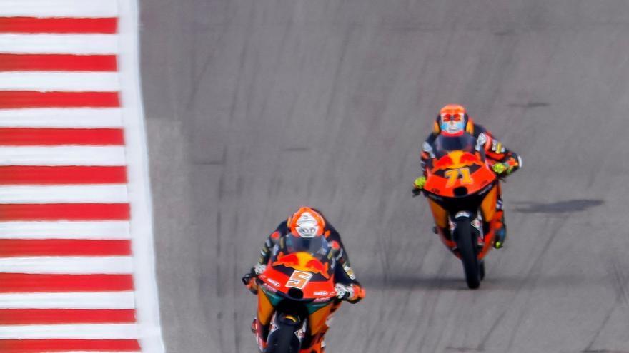 Acosta podrá ser campeón del mundo en la siguiente carrera de Moto3