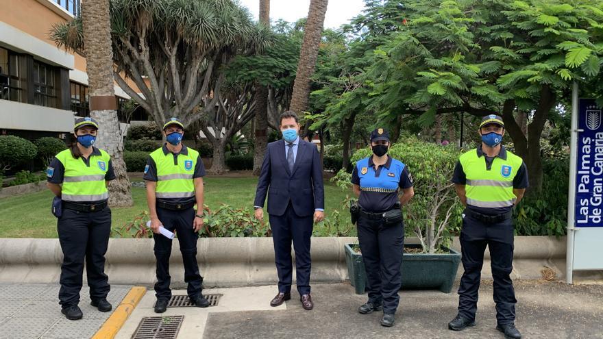 El Ayuntamiento fortalece el Cuerpo de Agentes de Movilidad con tres nuevos efectivos