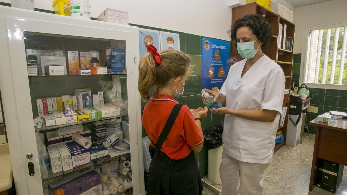 El colegio Agustinos tiene enfermera escolar
