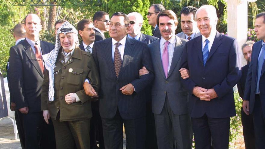 Cara a cara con Mubarak en Mallorca
