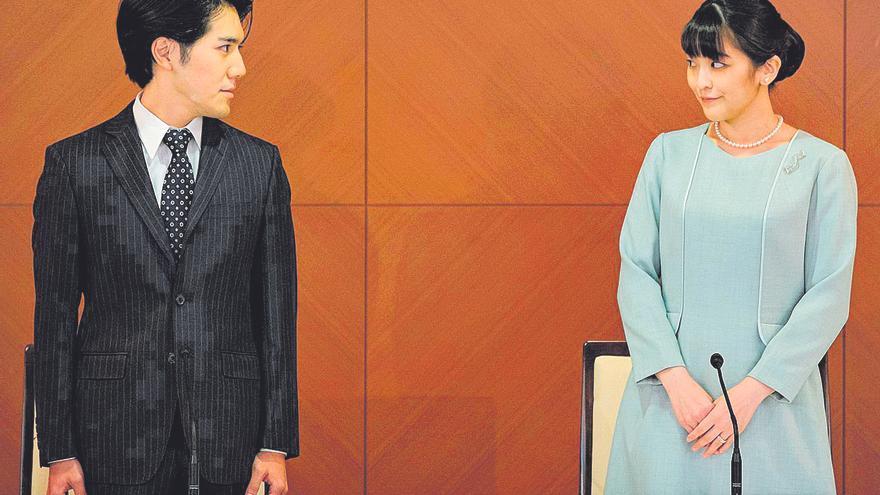 L'enllaç de la princesa Mako: una boda real al registre civil