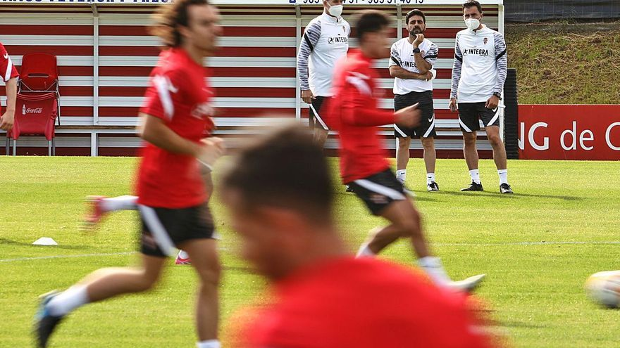 """Pablo Pérez: """"Ser capitán del Sporting es un orgullo y una responsabilidad"""""""