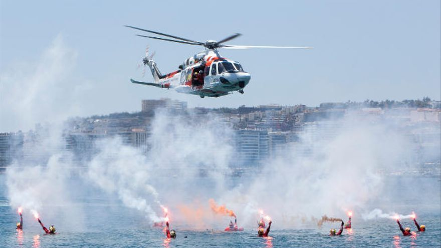 Salvamento rescata al remero que salió de Gran Canaria para cruzar el Atlántico
