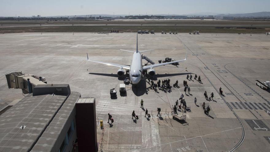 Los aeropuertos valencianos seguirán cerrados en la Fase 1