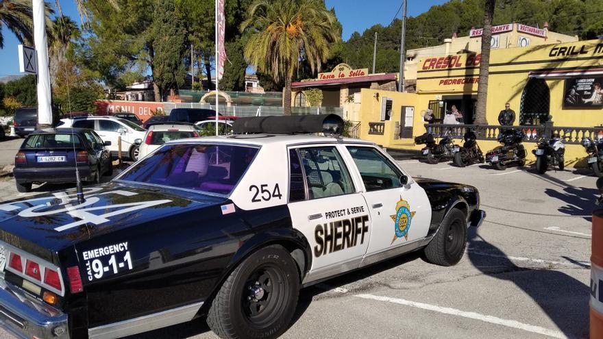 """El """"xèrif"""" arriba a Pedreguer"""