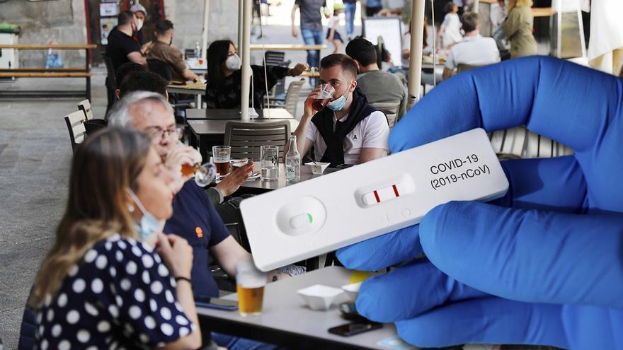 Cribado masivo a los empleados de la hostelería de Vigo en busca de asintomáticos