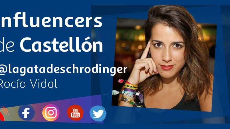 Así es @lagatadeschrodinger, la 'influencer' de la ciencia nacida en Castelló
