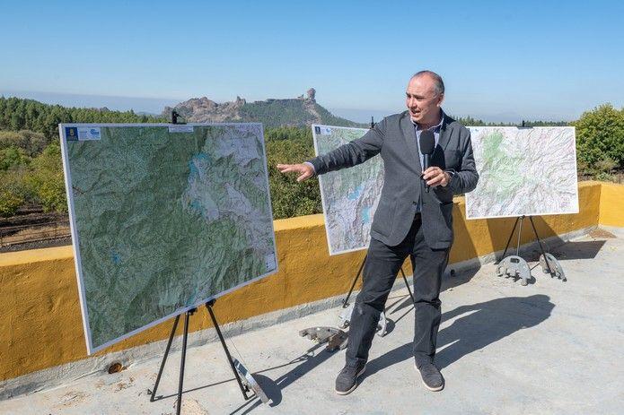 Proyecto para irrigar las cotas más altas de Gran Canaria