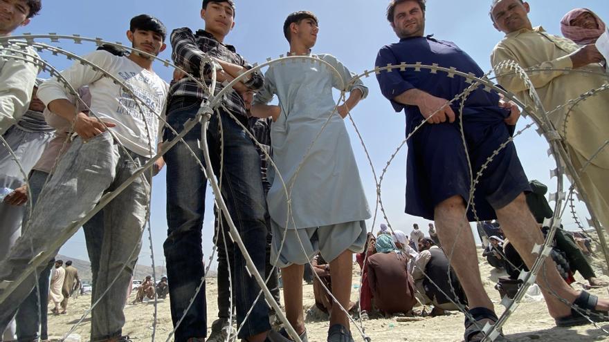Una docena de afganos vive en Canarias
