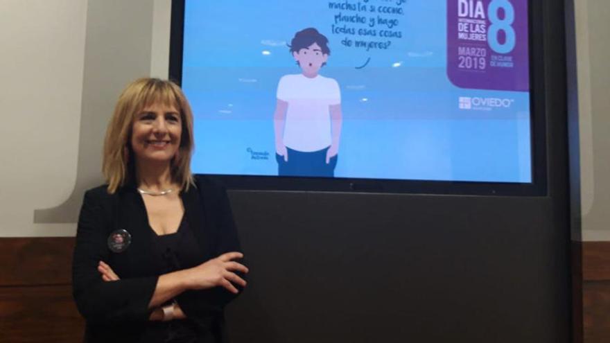 El humor centra los actos del Día Internacional de la Mujer de Oviedo, que se celebrarán mañana, 7 de marzo