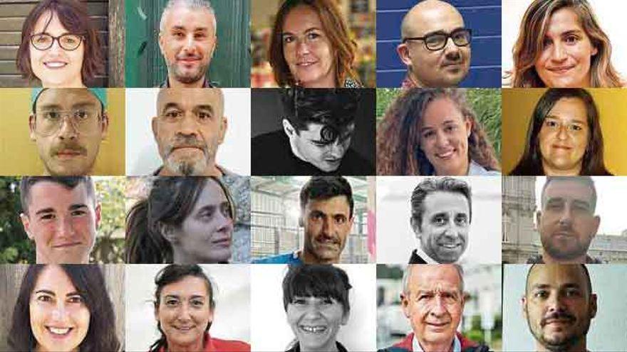 XX Aniversario LA OPINIÓN A CORUÑA | 20 rostros para otros 20 años