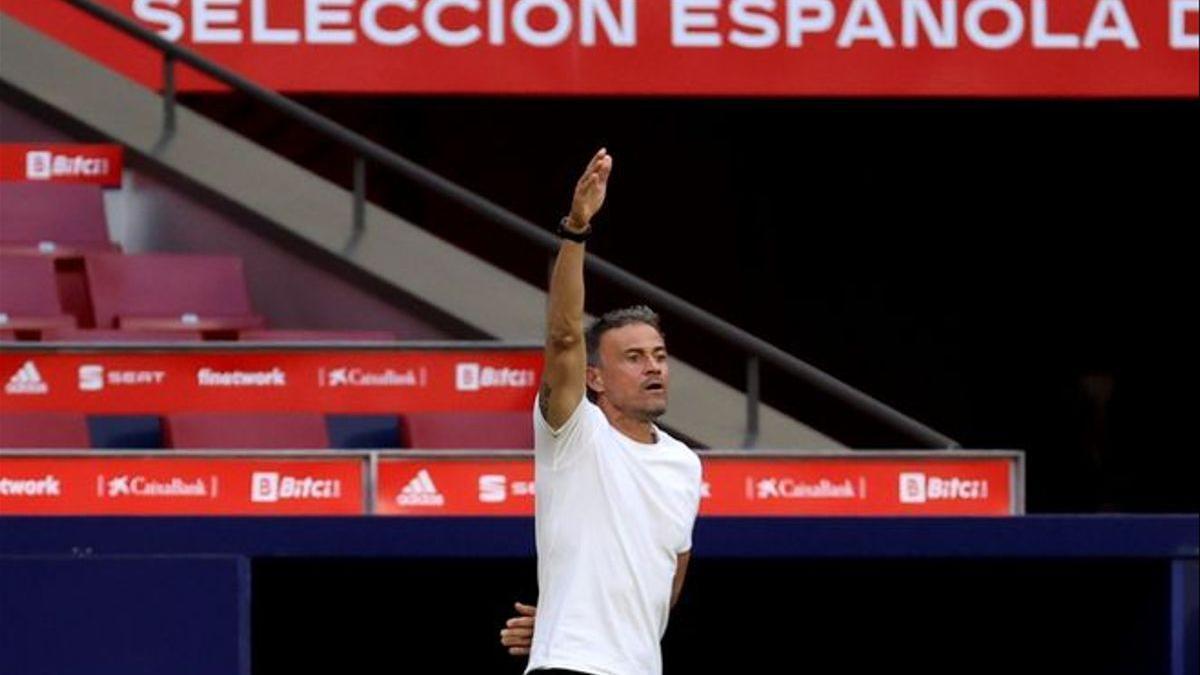 Luis Enrique Martínez, seleccionador espanyol