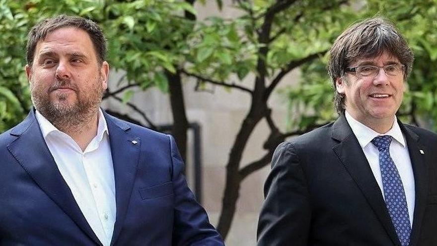 Puigdemont arrasa en las europeas en Cataluña