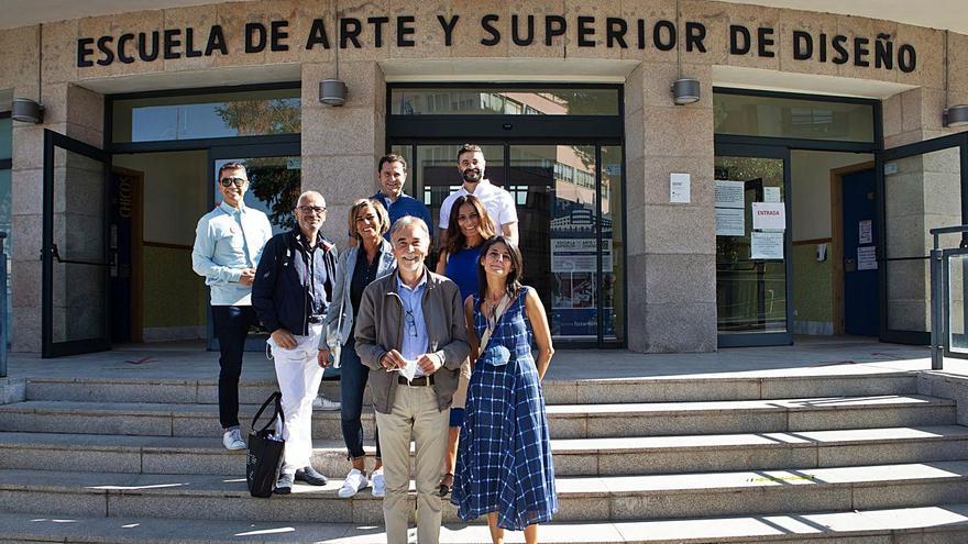 Estudios sin fronteras en la Escuela de Arte de Zamora