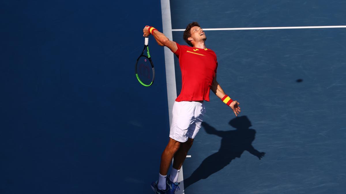 Pablo Carreño y Novak Djokovic se miden por el bronce