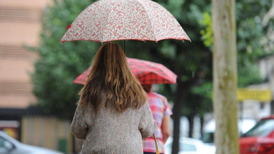 Las lluvias pueden volver este lunes a la Región