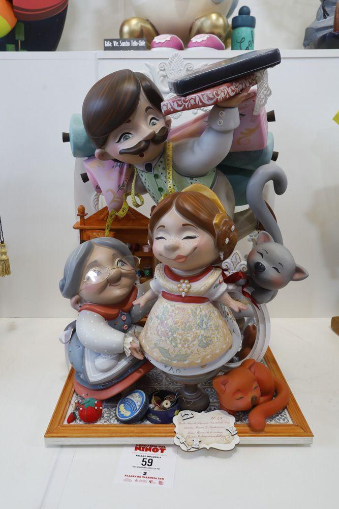 Fallas 2021: Ninots de las secciones Especial a Tercera (infantiles).