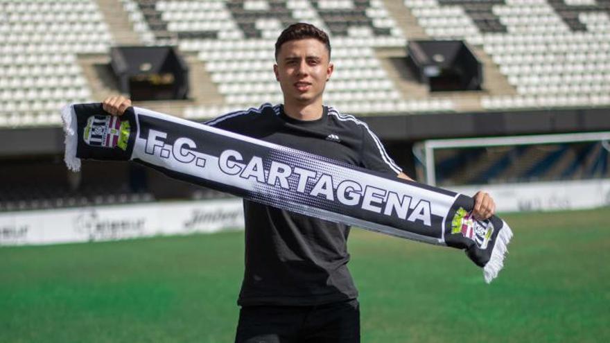 Pedro Neves, otro fichaje del FC Cartagena como apuesta de futuro