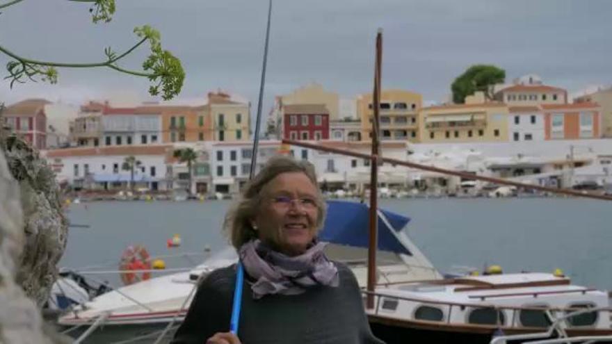 Neue Mallorca-Werbung: Britta auf Menorca