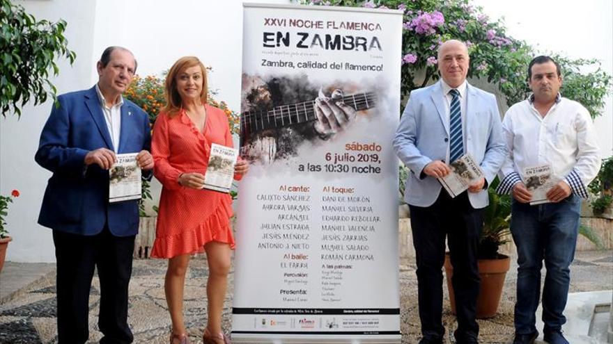 Arcángel, en el cartel de la Noche Flamenca de Zambra