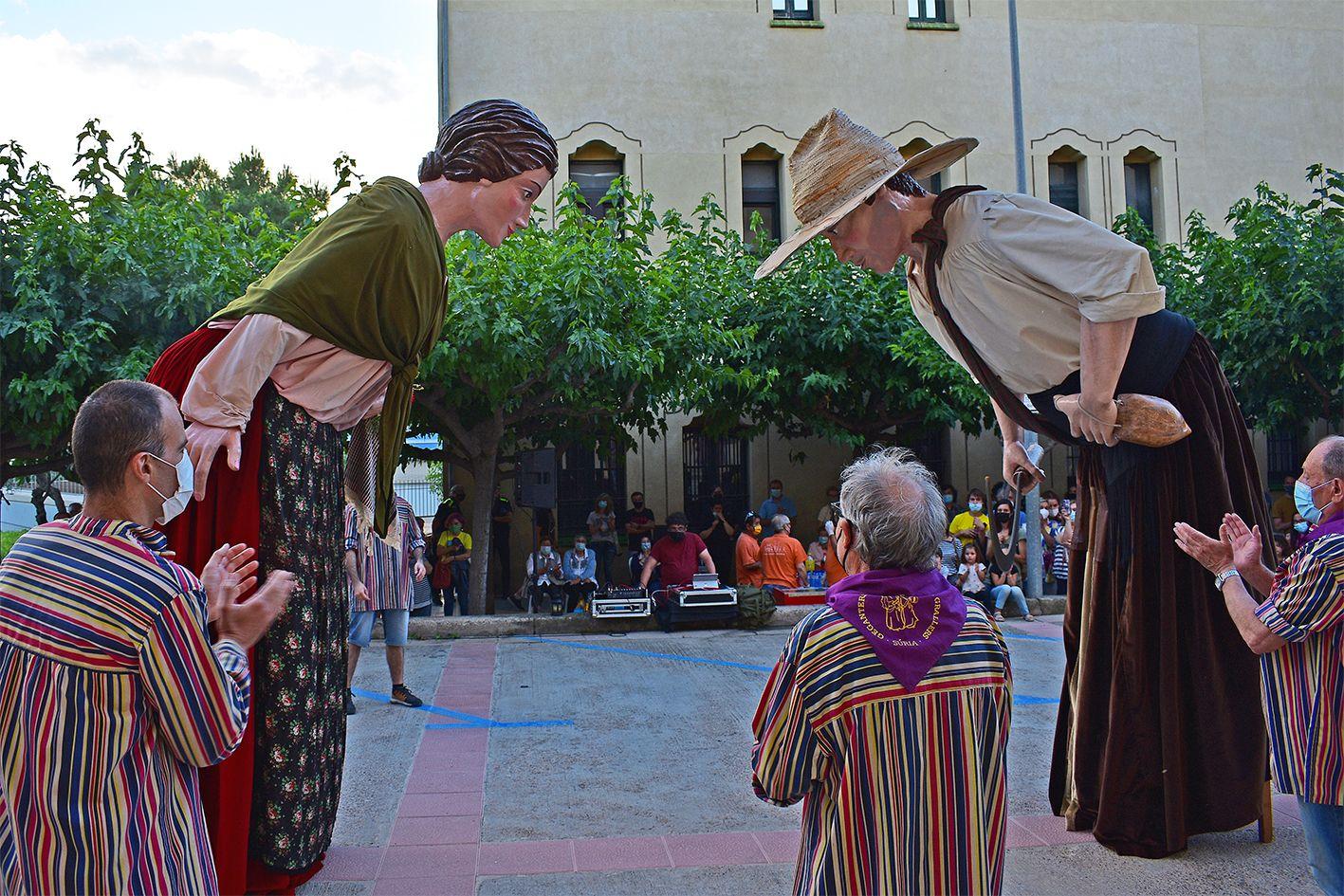 Súria celebra la revetlla de Sant Joan