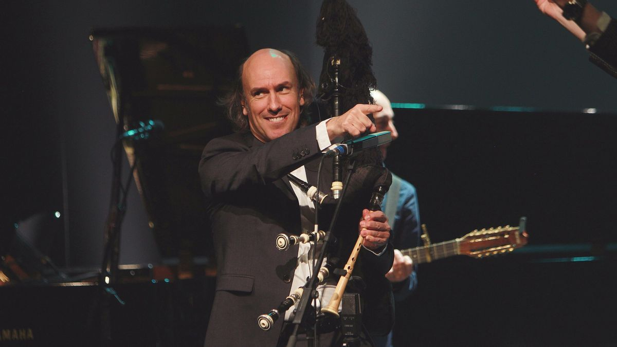 Carlos Núñez en concierto.