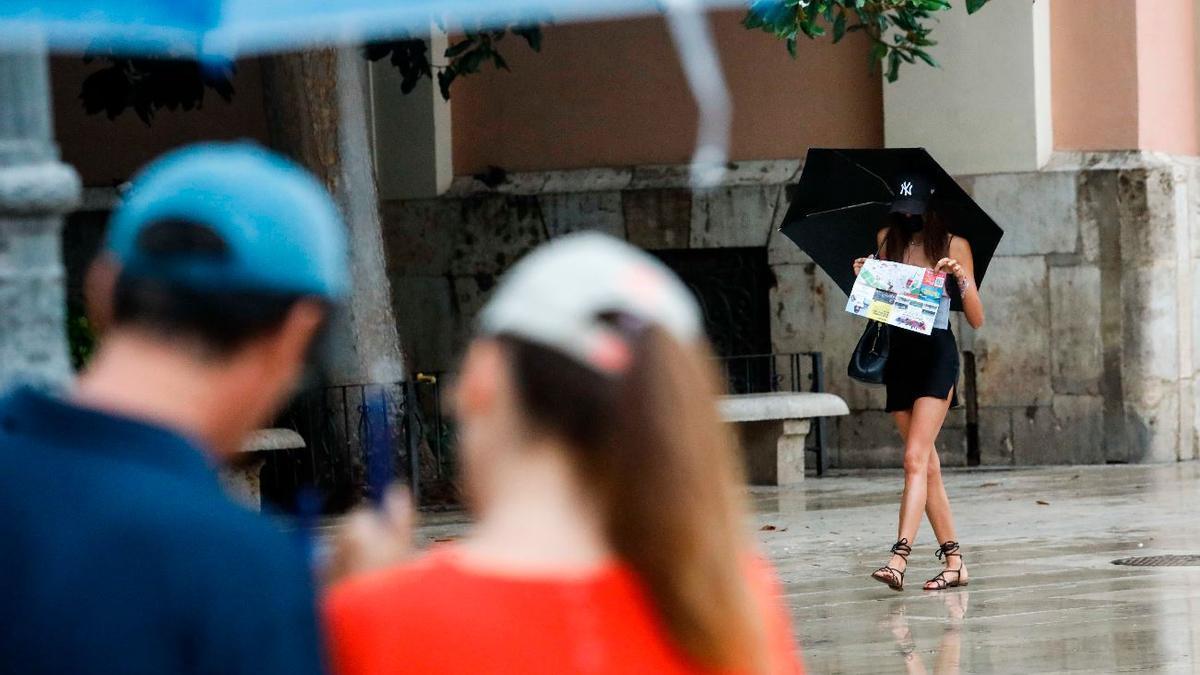 El tiempo en Valencia: lluvias en Valencia para el principio de la semana